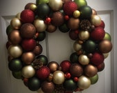 Fall Wreath with Lights...