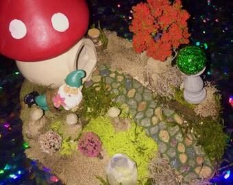 Toadstool House Fairytale