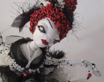 Soft Sculpture I Love C'th Lucy Cthulhu Art Doll Horror Gothic Fantasy doll