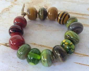 Eclectic Mix of Handmade Lampwork Beads