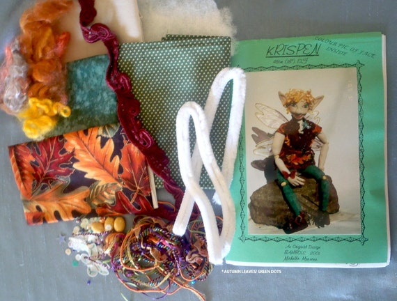 Items similar to pattern kit make krispen diy elf