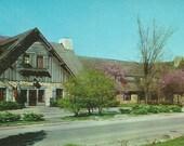 Vintage 1950s Postcard Grafton Illinois Pere Marquette Hotel Lodge State Park Jersey County Building Photochrome Era Postally Unused