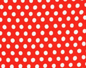 SPOT in TOMATO Red Polka Dot Kaffe Fassett fabric  GP70 Westminster Fabric / 1/2  yard Cotton, Quilt Craft and Apparrell fabric