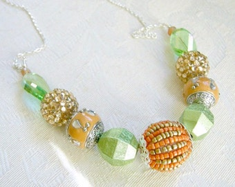 Green Fairy - princess-style necklace
