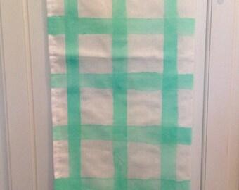 Candy Color Plaid Tea Towel