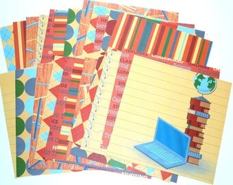 Card Stock Back to School  24 Sheets