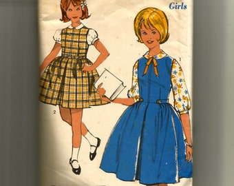 Advance Girl's Jumper and Blouse Pattern 2987