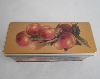 Decorative Tin Fruit Motif