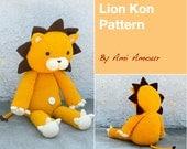 Lion Crochet Pattern Lion Amigurumi Pattern Lion Pattern Kon Pattern Giant Lion