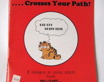 Vintage - Garfield - Cross Stitch - Pattern Book - Millcraft