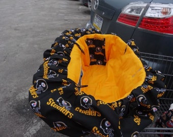 STEELERS Deluxe Shopping Cart Cover