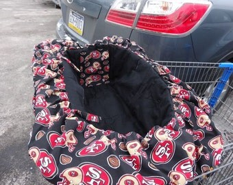 49ers Deluxe Shopping Cart Cover