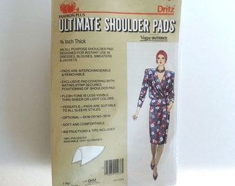 Dritz Removable Shoulder Pads – New Old Stock