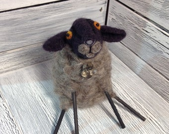 Constantina or Connie the Needle Felted Sheep