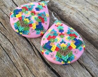 swedish navajo princess earrings