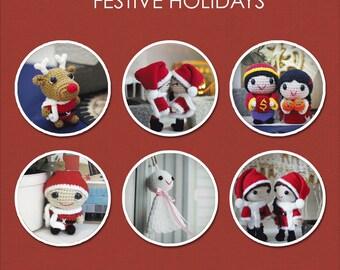 Festive Holidays Amigurumi Patterns - 6 Patterns