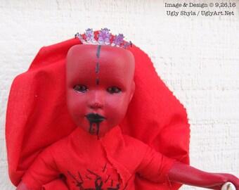 Crossroad Spirit - Road Opener Doll by Ugly Shyla -  Elegua - Papa Legba - voodoo - louisiana voodoo -vodou - Exu -