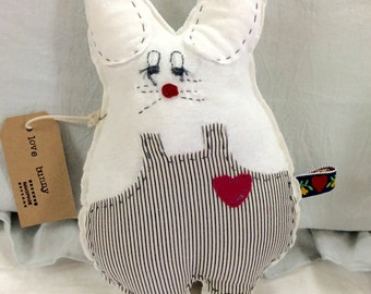 Lil Love Bunny Stuffed Animal Valentine