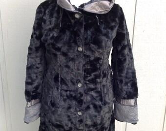 Night Black Empress Coat