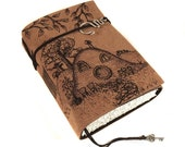 Hobbit Home, Handmade Leather Journal