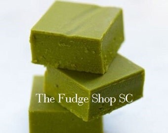 Matcha Green Tea  Fudge - 1 Pound Party, Snack, Wedding, Favors, Gift, Holiday, Special, Office, Treat, Meetings, Healthy, Green