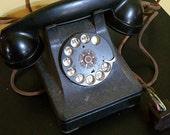 années 1930 bakélite téléphone électrique Western