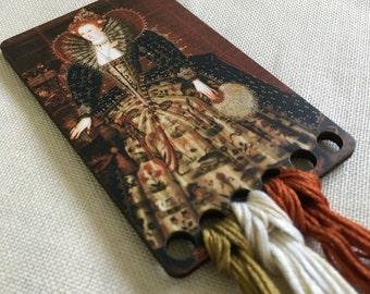 New World Queen thread keep embroidery floss organizer