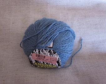 Angora Extra-Angora/Wool/Nylon-Silver Lake Blue 13-All Profits go to Charity