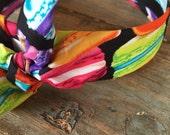Bright Macaron Macaroon Knot Tie Headband Head Wrap Rock Fashion Headband