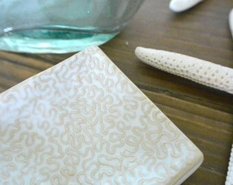 SALE: Squiggles Textured Trinket Dish