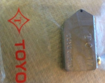 Toyo WIDE and Large Cutter Head is for Straight Cuts the Toyo TC17 is for Toyo Pistol, Comfort Pencil & Thomas Grip Cutters