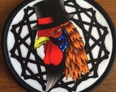 200 Custom Printed IRON ON Patches - Your own artwork - Unlimited Colors  - A USA Company