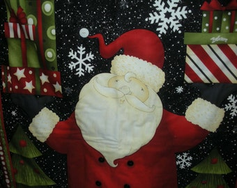 Embellished Santa Wallhanging