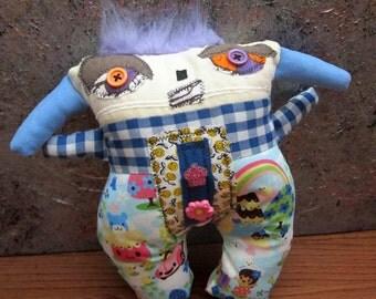 Primitive Folk Art Doll Al