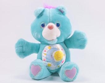 Care Bears Vintage Environmental Bedtime Bear Plush RARE 1990s 90s ~ The Pink Room ~ 160906