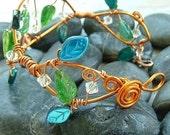 ON SALE Fairy Woodland Vine Bracelet Arm Band
