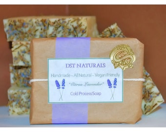 Citrus Lavender Cold Process Soap
