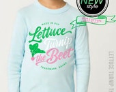 lettuce turnip the beet ® - trademark brand OFFICIAL SITE - pale blue long sleeve cotton shirt - toddler & kid sizes