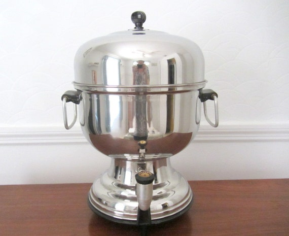 Farberware Large Stainless Steel Electric Percolator Coffee