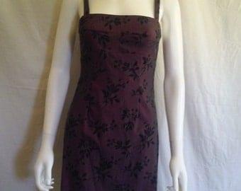 90s short floral dress