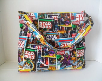 Star Wars Diaper Bag - Diaper Bag - Star Wars Bag - Messenger Bag - Crossbody - Star Wars Bag - Hobo