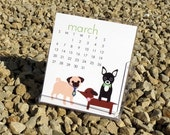 SALE 2016 Illustrated Desk Calendar