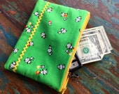 medium zipper pouch panda fun