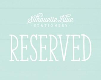 RESERVED for Christina - 20 4-Bar envelopes with return address printing