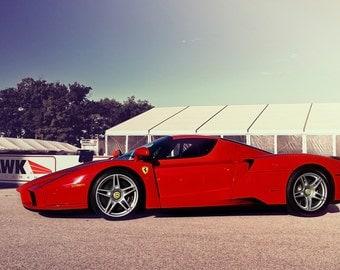 Ferrari Enzo -  Automotive Art -  Home Decor
