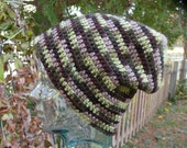 Camo Slouchy or Beanie Wool Winter Hat