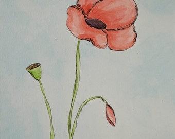 Poppies (Original Art)