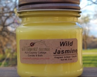 WILD JASMINE CANDLE - Strong Flowers Floral