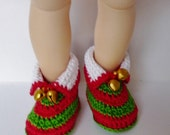 Littlefee, YOSD Elf Shoe Red and Green