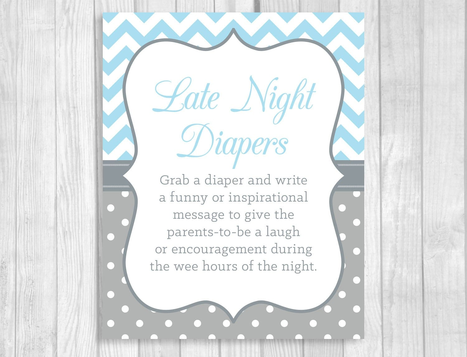 It is a photo of Crazy Late Night Diaper Messages Free Printable